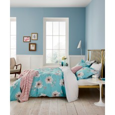 Joules Linear Peony Double Duvet Cover