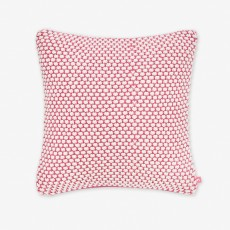 Joules Mini Bubble Cushion Pink/Crème