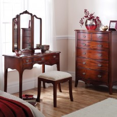 Genevieve Mahogany Dressing Table