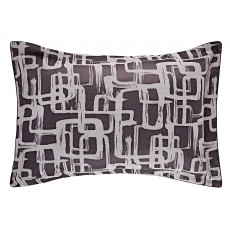 Harlequin Asuka Aubergine Oxford Pillow Case
