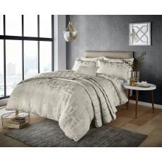 Harlequin Asuka Moonstone King Duvet Cover