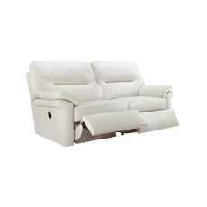 G-Plan Washington 2 Seater Manual Reclining Sofa Fabric B