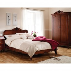 Genevieve Mahogany Super King (180cm) Bedstead