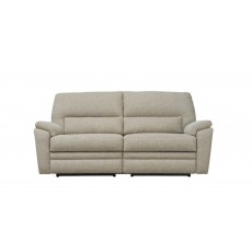 Parker Knoll Hampton 2 Seater Manual Reclining Sofa Fabric A