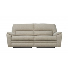 Parker Knoll Hampton 3 Seater Manual Reclining Sofa Fabric A