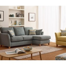 West 3.5 Seater Standard Back Sofabed Fabric EB