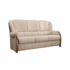 Cassino 3 Seater Sofa Leather Category A/S