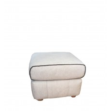Cassino Footstool Leather Category A/S