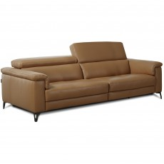 Egoitaliano Jazz Electric Reclining 3 Seater Microfibre Fabric Sofa