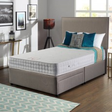 Wessex Wellbeing Aloe Vera Double (135cm) Platform Top 2 Drawer Divan Set