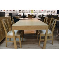 Gardner 6-8 Person Extending Dining Table + 4 Chairs