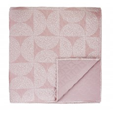 Helena Springfield Posy Cerise 260cm x 265cm Quilted Throw