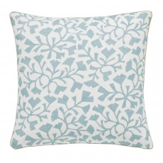 Sanderson Home Dawn Chorus Silver 40cm x 40xm Cushion