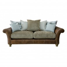 Alexander & James Lawrence 3 Seater Sofa Scatter Back Fabric Option 1
