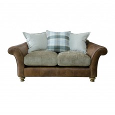 Alexander & James Lawrence 2 Seater Sofa Scatter Back Fabric Option 1