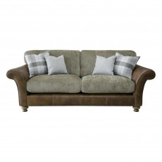 Alexander & James Lawrence 3 Seater Sofa Standard Back Fabric Option 1