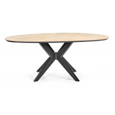 Cressida 6 -8 Person Eliptical Dining Table
