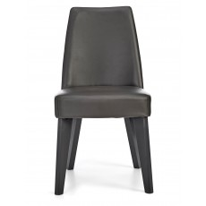 Cressida Fixed Chair Grey PU