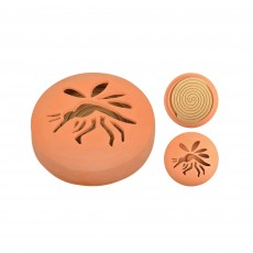 Citronella Coils in Terracotta