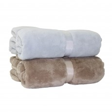 DEYONGS Snuggletouch Silver Throw 140x180cm