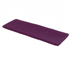 Glencrest Seatex CC Collection 3 Person Seat Bench Cushion Plum