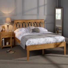 April Honey Small Double (120cm) Bedstead