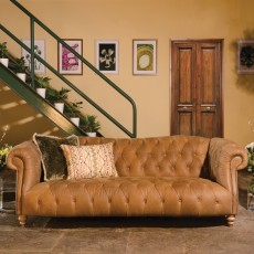Tetrad Matisse 4 Seater Sofa- Leather Category D