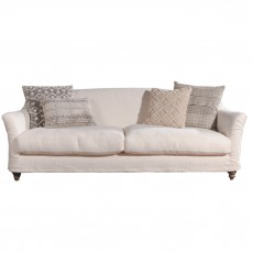 Tetrad Kandinsky 4 Seater Sofa with Scatter Cushions Pack A or B- Fabric 1