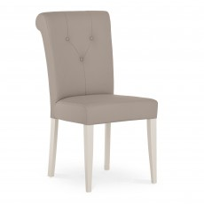 Freeport Grey Faux Leather Upholstered Dining Chair