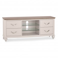 Freeport Grey Washed Oak Entertainment Unit