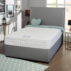 Dreamworld Westbury Cooler King (150cm) Platform Top Divan Set
