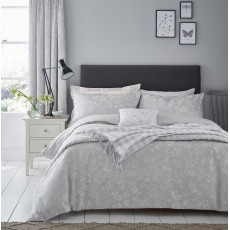 Sanderson Ida Blossom Oxford Pillowcase Grey