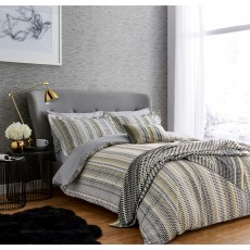 Harlequin Array Double Duvet Cover Set Charcoal