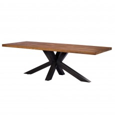Neo 10 Person Dining Table With Starburst Leg