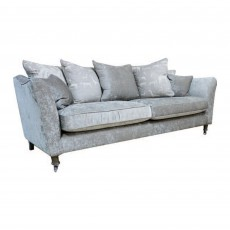 Chateauneuf 4 Seater Scatter Back Sofa Fabric B