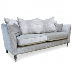 Chateauneuf 3 Seater Scatter Back Sofa Fabric B