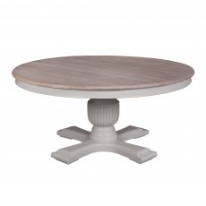 Georgia 8 Person Round Dining Table