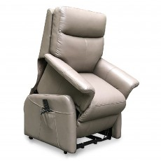 Basilicata Lift & Rise Recliner With 4 Motors & Adjustable Headrest & Lumbar Leather