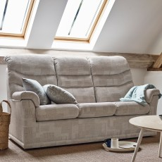 G-Plan Malvern 2 Seater Manual Reclining Sofa Fabric B
