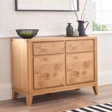 Burrswood Oak Narrow Sideboard