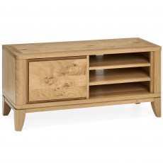 Burrswood Oak Narrow Entertainment Unit