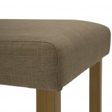 Farnese Bar Stool Fabric Beige