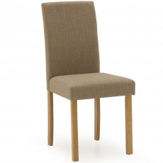 Dozza Dining Chair Fabric Beige