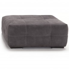 Egoitaliano Sauvanne Square Footstool Leather Category C