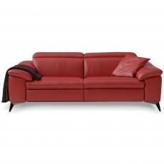 Egoitaliano Martine 2.5 Seater Sofa With 2 Electric Recliners Microfibre Fabric