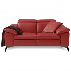 Egoitaliano Martine 2 Seater Sofa With 2 Electric Recliners Microfibre Fabric