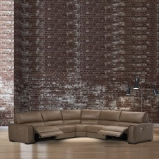 Natuzzi Editions Catania Electric Reclining 2 Seater Sofa With Battery Leather Category 20