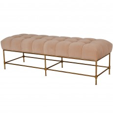 Ravenscourt Bedroom Bench Velvet Beige