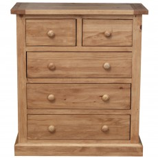 Lobelia 2 + 3 Drawer Chest Of Drawers Pine