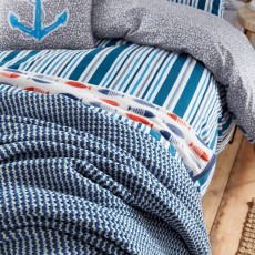 Helena Springfield Tropez Throw Nautical 230cm x 265cm